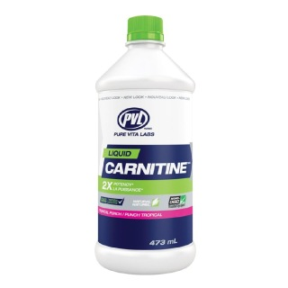 PVL Carnitine Liquid,  0.473 L  Tropical Punch