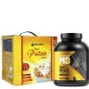 MuscleBlaze Whey Gold Rich Milk Chocolate & High Protein Cereal Combo