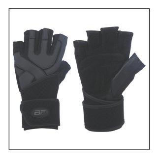 Biofit Hardcore Wrist Wrap Gloves (1160),  Black  XL