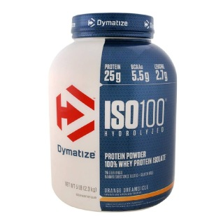 Dymatize Iso-100 Protein,  5 lb  Orange Dreamsicle