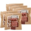 Feel Mighty High Protein Brownie Pack of 5,  5 Piece(s)/Pack  Chocolate Walnut
