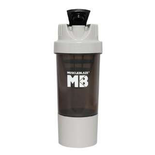 MuscleBlaze Cyclone,  Grey  600 ml