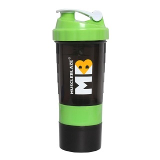 MuscleBlaze Hulk Shaker,  Assorted  500 ml
