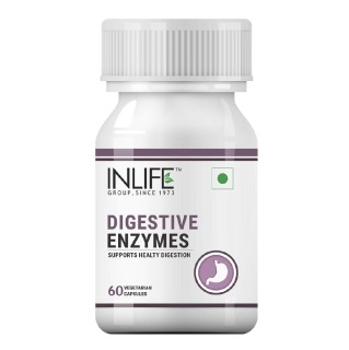 INLIFE Digestive Enzymes,  60 capsules