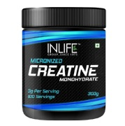 INLIFE Micronized Creatine Monohydrate,  Unflavoured  0.66 lb