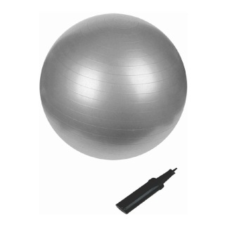 B Fit USA Anti Burst Gym Ball (3629-95),  Silver  95 cm