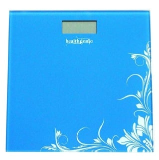Healthgenie Digital Weighing Scale (HD 221),  Blue