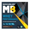 MuscleBlaze Whey Performance (70%) Protein,  2.2 lb  Chocolate