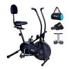 Lifeline Exercise Air Bike with Back Seat, Tummy Trimmer, Gym Bag and Sweat Belt