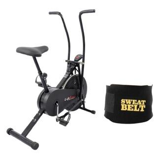Lifeline Fitness Combo Air Bike 103 and Sweat Belt