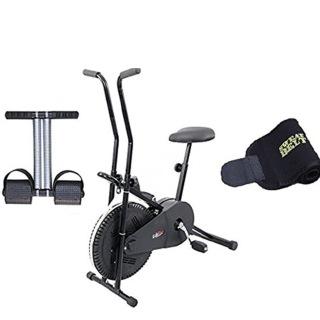 Lifeline Exercise Cycle 102, Bonus Tummy Trimmer and Sweat Belt