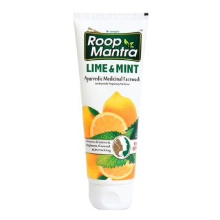 Roop Mantra Lime & Mint Face Wash,  115 ml  for All Skin Types
