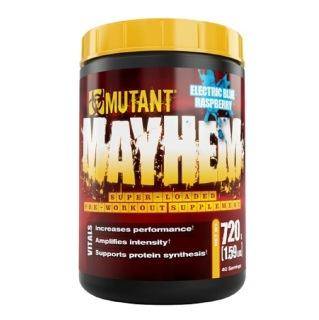 Mutant Mayhem Pre Workout,  1.59 lb  Electric Blue Raspberry