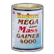 Endura Mega Lean Mass Gainer 4000,  Unflavored  1.1 Lb