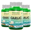 Morpheme Remedies Garlic (500 mg) Pack of 3,  60 capsules
