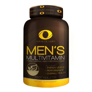 Infinite Labs Mens Multivitamin,  120 tablet(s)  Unflavoured
