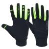 KOBO Fleece Running Gloves (RG-01),  Black  Small
