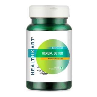6 - HealthKart Herbal Detox,  60 capsules