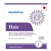 Highlight - HealthViva Hair with Biotin,  Unflavoured  90 capsules