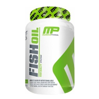 1 - MusclePharm Fish Oil,  90 softgels