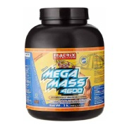 1 - Matrix Nutrition Mega Mass 4600,  6.6 lb  Chocolate