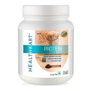 2 - HealthKart Protein with Oats,  2.2 lb  Chocolate