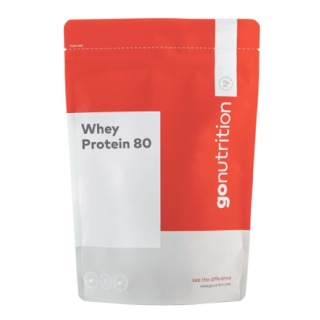 GoNutrition Whey Protein 80,  1.1 lb  Strawberries & Whipped Cream