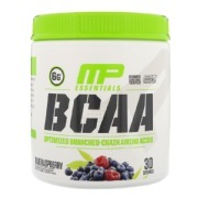 MusclePharm BCAA Essentials,  0.5 lb  Blue Rapsberry