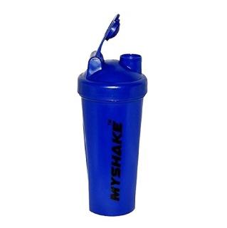 Myshake Classic Protein Shaker,  Blue  600 ml