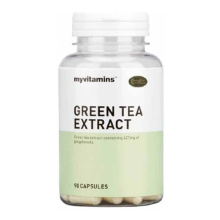 Myvitamins Green Tea Extract,  90 capsules  Unflavoured