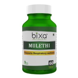 Bixa Botanical Mulethi,  60 capsules