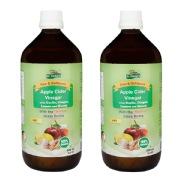 Dr. Patkar's Apple Cider Vinegar Pack of 2,  0.5 L  Garlic, Ginger, Lemon and Honey