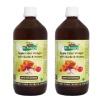 Dr. Patkar's Apple Cider Vinegar (Pack of 2),  1 L  Garlic & Honey