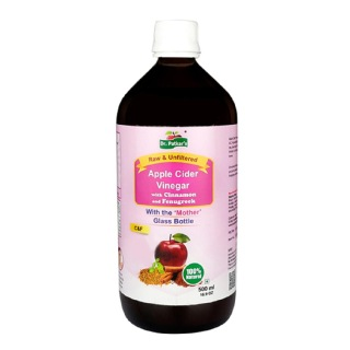 1 - Dr. Patkar's Apple Cider Vinegar,  0.5 L  Cinnamon & Fenugreek