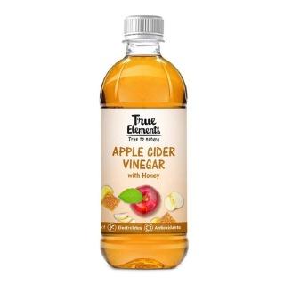 1 - True Elements Apple Cider Vinegar,  0.5 L  Honey