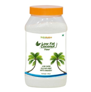 1 - NutroActive Low Fat Coconut Flour,  Unflavoured  0.4 kg