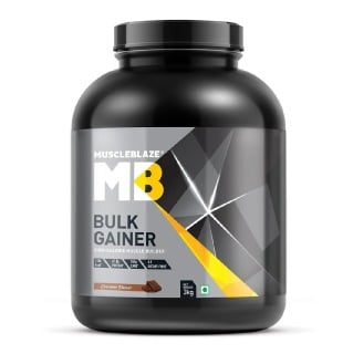 MuscleBlaze Bulk Gainer Mass Gainer with Creatine,  6.6 lb  Chocolate