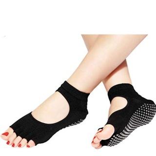 Strauss Yoga Socks,  Black  Free Size
