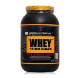 British Nutritions Whey Platinum Standard,  Vanilla  Vanilla  2.2 Lb  2.2 Lb