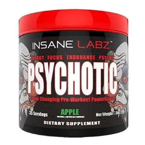 Insane Labz Psychotic Pre-Workout - 0.48 lb (Apple) Online ...