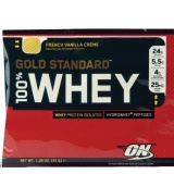 ON (Optimum Nutrition) Gold Standard 100% Whey Protein,  Vanilla Ice Cream  1 Lb
