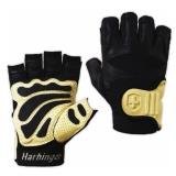 Harbinger Big Grip II Gloves,  Charcoal  Extra Large