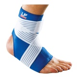 LP Support Ankle Support With Strap (728),  Blue  Small