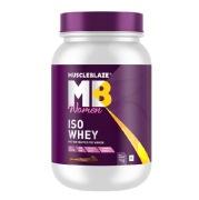 MuscleBlaze Women Iso-Whey, 2.2 lb Chocolate