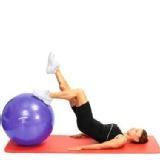 Harbinger Training Gym Ball,  Purple  55 Cm