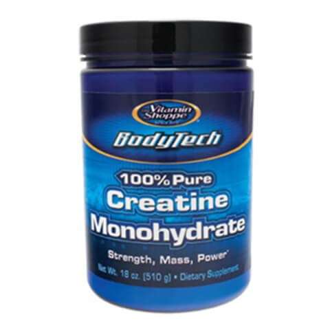 Vitamin Shoppe BodyTech Creatine Monohydrate 100% Pure,  Unflavoured  1.1 lb