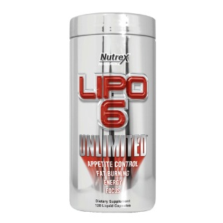 Nutrex Lipo-6 Unlimited,  120 capsules  Unflavoured