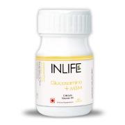 INLIFE Glucosamine + MSM,  60 Tablet(s)