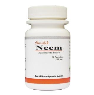 Shivalik Herbals Neem,  60 capsules