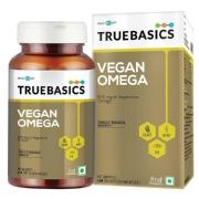 TrueBasics Vegan Omega 870mg of Vegetarian Omega Fatty Acids, 90 softgels